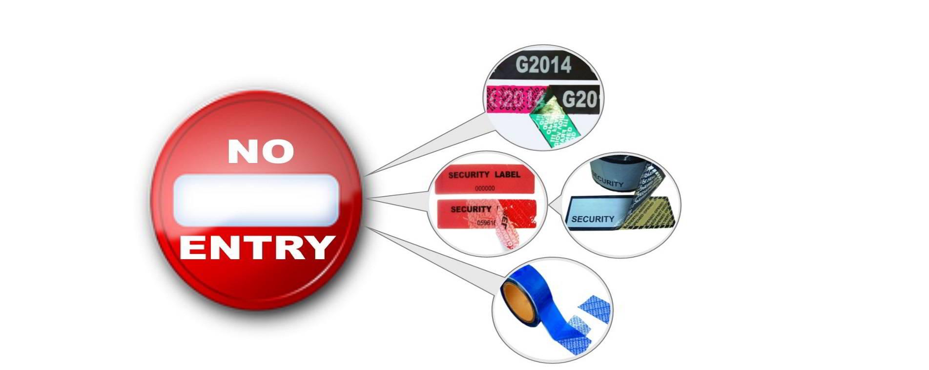 Tamper Evident Labels & Taps