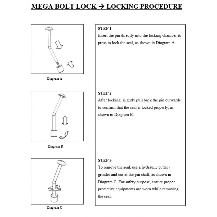 Mega Bolt Lock (BAT Seal)